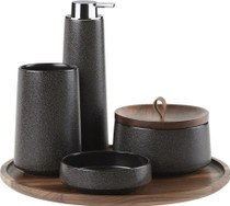 Kohler Bente Five-Piece Accessory Set, Herringbone