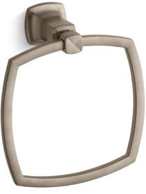 Kohler Modern Timeless Design Towel Ring from Margaux Collection