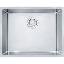 "Franke Cube 24 5/8"" Single Bowl Undermount Stainless Steel Kitchen Sink"