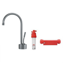 """Franke Ambient Little Butler 9 1/2"""" Single Handle Deck Mounted Cold Water Dispenser with Kit With Finish: Satin Nickel"""