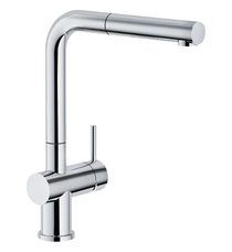 Franke Active-Plus Pullout Spray Kitchen Faucet With Finish: Polished Chrome