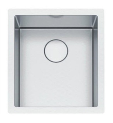 """Franke PS2X110-15 Professional 2.0 17 1/2"""" Single Bowl Undermount Stainless Steel Kitchen Sink"""
