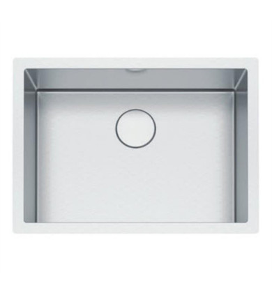 """Franke PS2X110-24-12 Professional 2.0 26 1/2"""" Single Bowl Undermount Stainless Steel Kitchen Sink"""