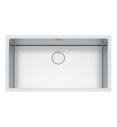 """Franke PS2X110-33 Professional 2.0 35 1/2"""" Single Bowl Undermount Stainless Steel Kitchen Sink"""