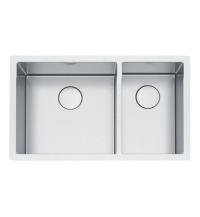 """Franke PS2X160-18-11 Professional 2.0 32 1/2"""" Double Bowl Undermount Stainless Steel Kitchen Sink"""