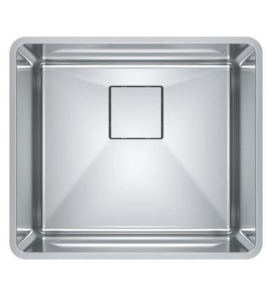 "Franke PTX110-20 Pescara 20 5/8"" Single Bowl Undermount Stainless Steel Kitchen Sink"