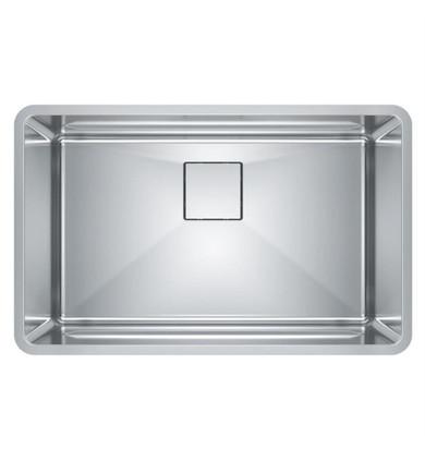 "Franke PTX110-28 Pescara 29 1/2"" Single Bowl Undermount Stainless Steel Kitchen Sink"