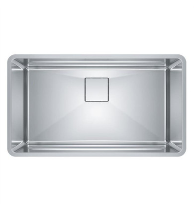 "Franke PTX110-31 Pescara 32 1/2"" Single Bowl Undermount Stainless Steel Kitchen Sink"