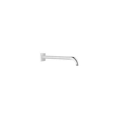 """Grohe 12"""" Rain Shower Arm with Square Flange and 1/2"""" Threaded Conncection"""