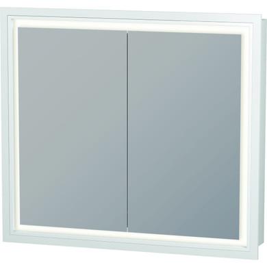 "Duravit L-Cube 31-1/2"" x 27-1/2"" Lighted Framed Medicine Cabinet"