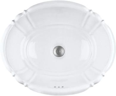 "PROFLO 17-1/4"" Self Rimming Bathroom Sink"