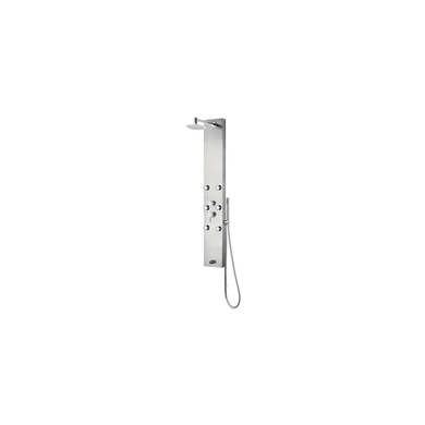 Pulse Monterey Shower Panel with 2.5 GPM Rain Shower and Single-Function Handshower and Bodysprays, with Hose