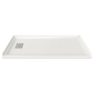 """American Standard Studio 30"""" L x 60"""" W Shower Base with Single Threshold and Left Drain"""