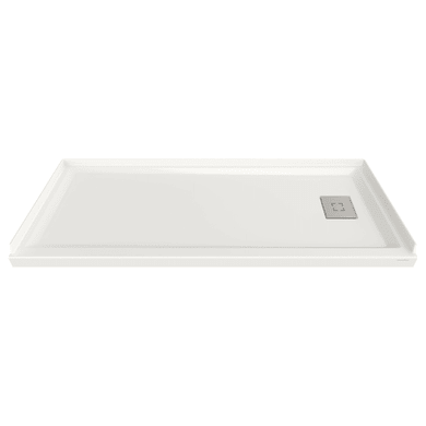 """American Standard Studio 30"""" L x 60"""" W Shower Base with Single Threshold and Right Drain"""