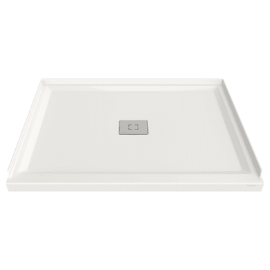 """American Standard Studio 36"""" L x 48"""" W Shower Base with Single Threshold and Center Drain"""
