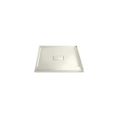 "Kohler Archer 42"" x 42"" Square Shower Base with Single Threshold and Center Drain"