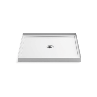 """Kohler Rely 36"""" x 34"""" Square Shower Base with Single Threshold and Center Drain"""