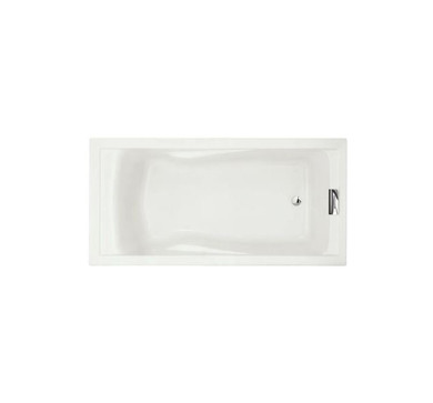 American Standard Evolution 6 ft. x 36 in. Deep Soaking Tub with Reversible Drain