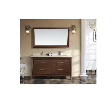 """Royal Havana 60"""" Solid Wood Bathroom Vanity"""