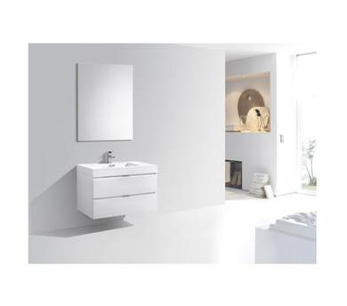 "Royal Hail 36"" Wall mount Bathroom Vanity"