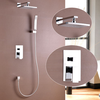 Royal Tampa Twin Shower System Chrome