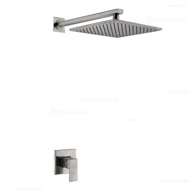 Royal Sedona One Way Shower System Brushed Nickel Finish