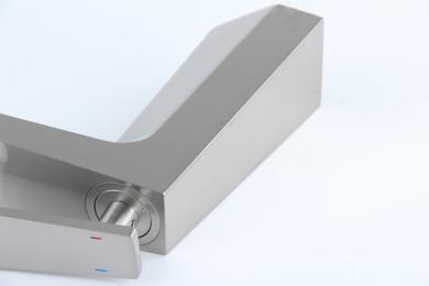 Royal Cube Single Handle Lav Faucet Brushed Nickel