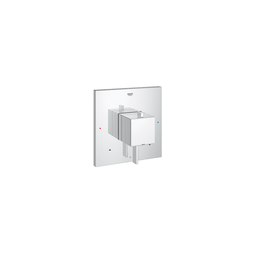 Grohe Eurocube / Cosmo Square Dual Function Pressure Balance Shower Trim with Integrated Volume Control and 2-Way Diverter