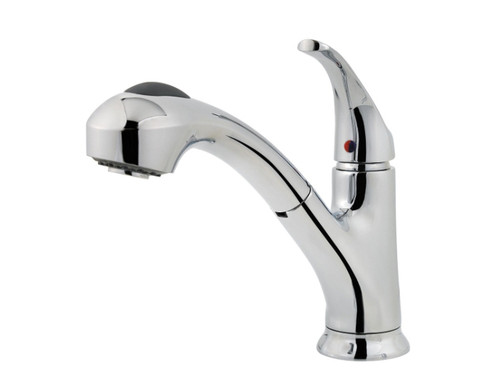Price Pfister Shelton 1 Handle Pull Out Kitchen Faucet Chrome