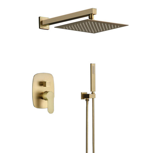 Royal Carlyle 2-way brushed brass Shower