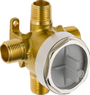 Delta Universal Diverter Rough-In Valve - For Use with All Delta 3 or 6 Function Diverter Trims