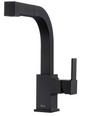 Matte Black 360 Turning Spout 1.8 GPM Single Handle Pull Out Faucet