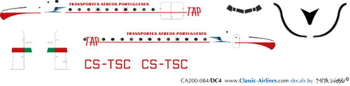 1/200 Scale Decal TAP DC-4