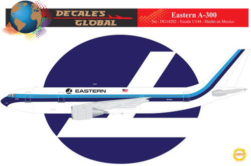 1/144 Scale Decal Eastern A-300