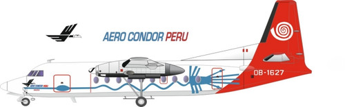 1/144 Scale Decal Aero Condor F-27