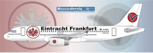 1/144 Scale Decal Aero Flight A-320 Frankfurter Eintracht
