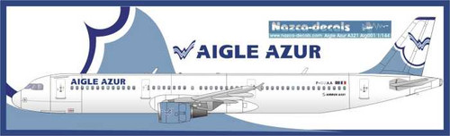 1/144 Scale Decal Aigle Azur A-319 / 320 / 321