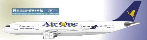 1/144 Scale Decal Air One A330-200 For Braz