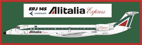 1/144 Scale Decal Alitalia Express ERJ-145