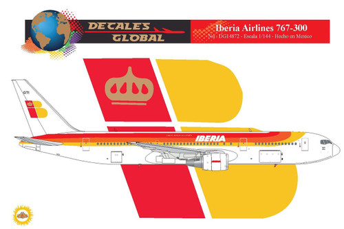 1/144 Scale Decal Iberia 767-300