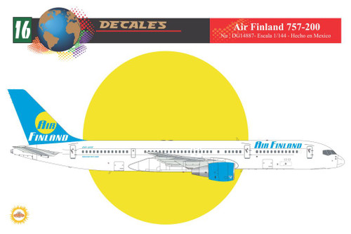 1/144 Scale Decal Air Finland 757-200