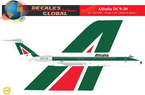 1/144 Scale Decal Alitalia DC9-30
