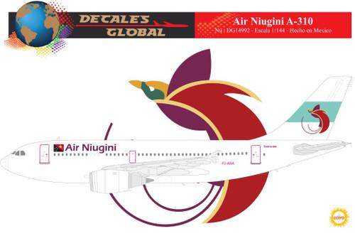 1/144 Scale Decal Air Niugini A-310