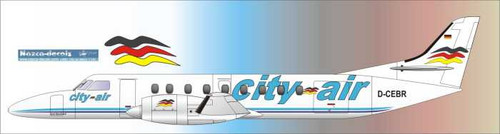 1/144 Scale Decal City Air Metro III