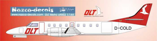 1/144 Scale Decal OLT Metro