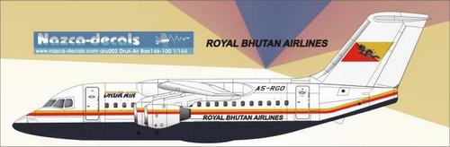 1/144 Scale Decal Drukair BAe-146