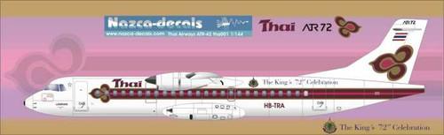 1/144 Scale Decal Thai Airways ATR-72
