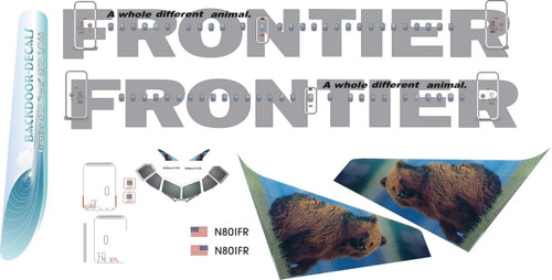 1/144 Scale Decal Frontier A-318 Bear