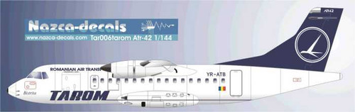 1/144 Scale Decal Tarom ATR-42