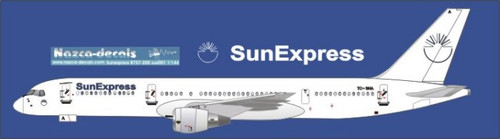 1/144 Scale Decal SunExpress B757-200